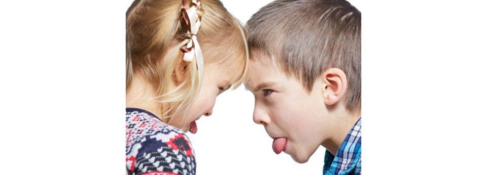 peleas entre hermanos